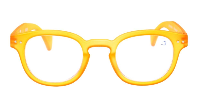 イジピジ +3.0#C Reading-Yellow [ウェリントン/黄色]