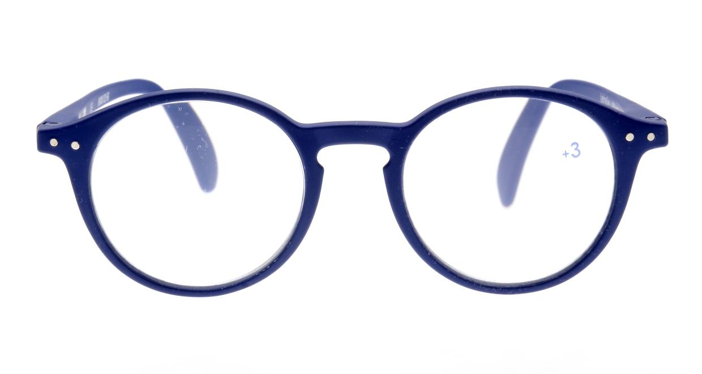 イジピジ(IZIPIZI) イジピジ +3.0#D Reading-Navy Blue