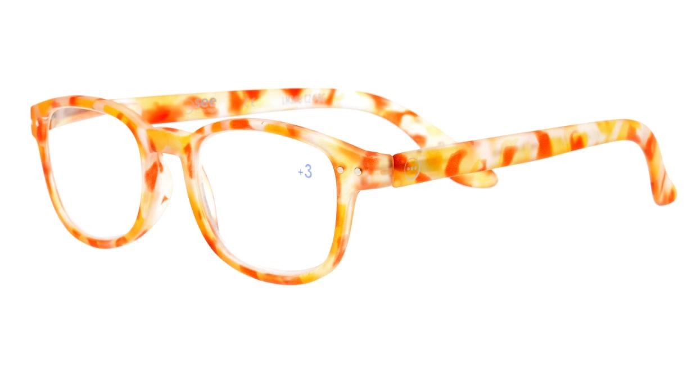 イジピジ +3.0#B Reading-Yellow Tortoise [ウェリントン/べっ甲柄]  1