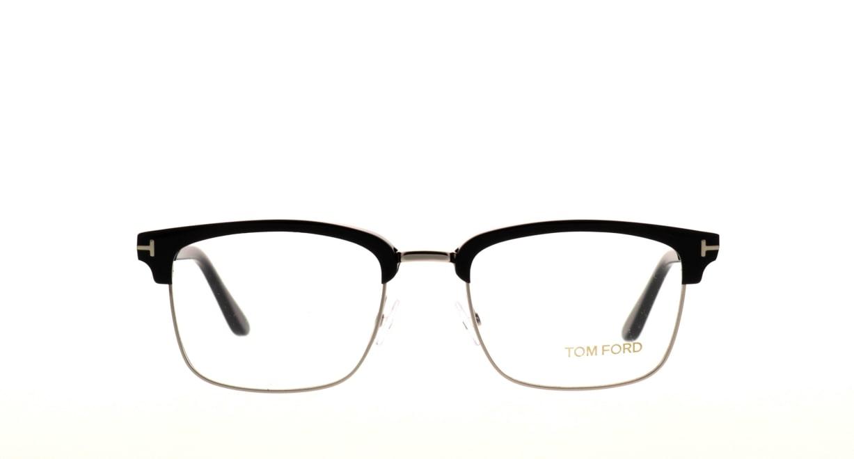 トムフォード FT5504-005-52 [黒縁/ウェリントン]
