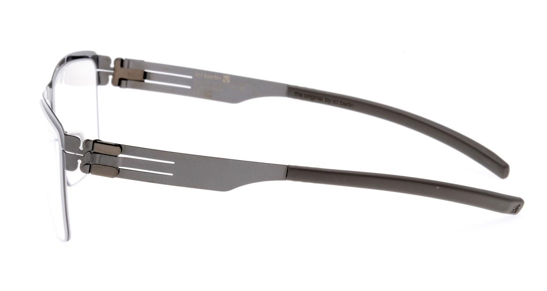 アイシーベルリン Francois S.-Gun-Metal-Warm Grey [メタル/ウェリントン/グレー]  2
