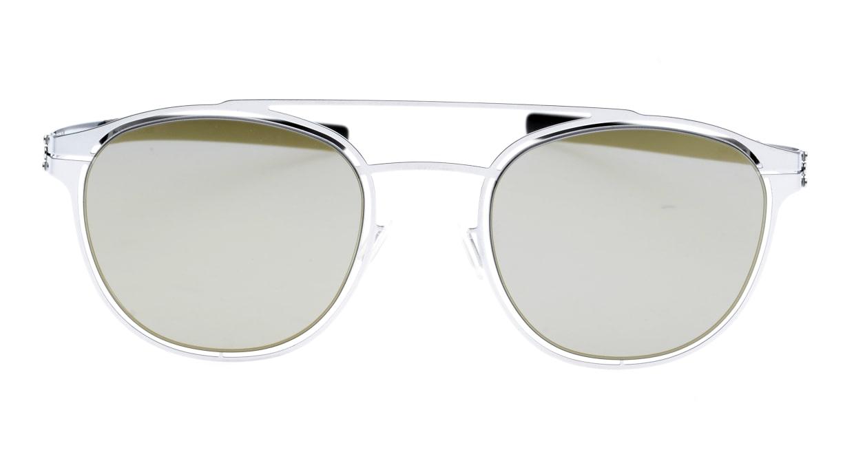 アイシーベルリン Simplicity-Fashion-Silver-Black-Quicksilver [メタル/ボストン]