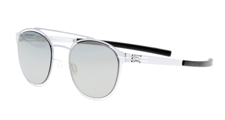アイシーベルリン Simplicity-Fashion-Silver-Black-Quicksilver [メタル/ボストン]  1