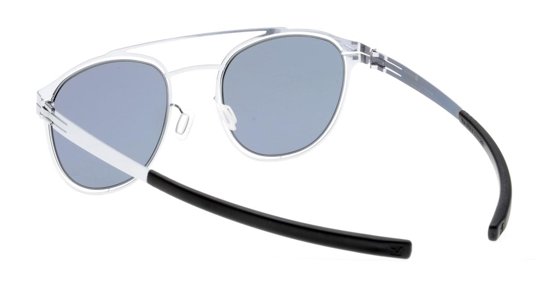 アイシーベルリン Simplicity-Fashion-Silver-Black-Quicksilver [メタル/ボストン]  3