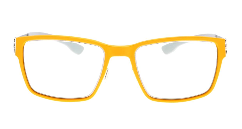 アイシーベルリン Nino S.-Chrome-Yellow-Light Grey [コンビメタル/ウェリントン/黄色]