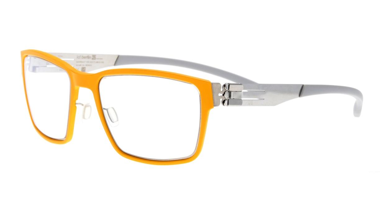 アイシーベルリン Nino S.-Chrome-Yellow-Light Grey [コンビメタル/ウェリントン/黄色]  1