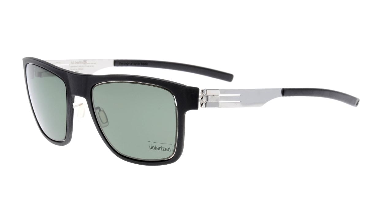 アイシーベルリン Kingpin-Chrome-Black-Green Polarized [ウェリントン]  1