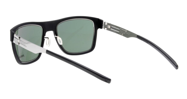 アイシーベルリン Kingpin-Chrome-Black-Green Polarized [ウェリントン]  3