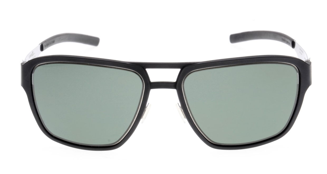 アイシーベルリン(ic! Berlin) アイシーベルリン Wipeout-Chrome-Black-Green Polarized