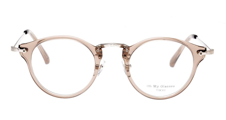 Oh My Glasses TOKYO Luke omg-025-35-20 [鯖江産/丸メガネ/透明]