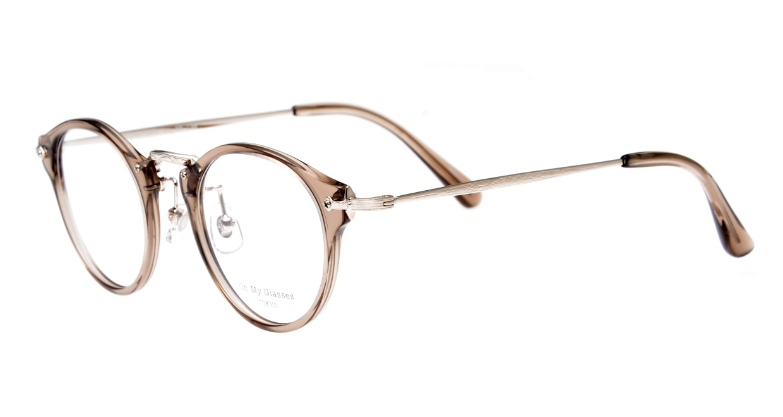 Oh My Glasses TOKYO Luke omg-025-35-20 [鯖江産/丸メガネ/透明]  1