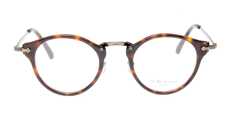 Oh My Glasses TOKYO Luke omg-025-20-12 [鯖江産/丸メガネ/茶色]