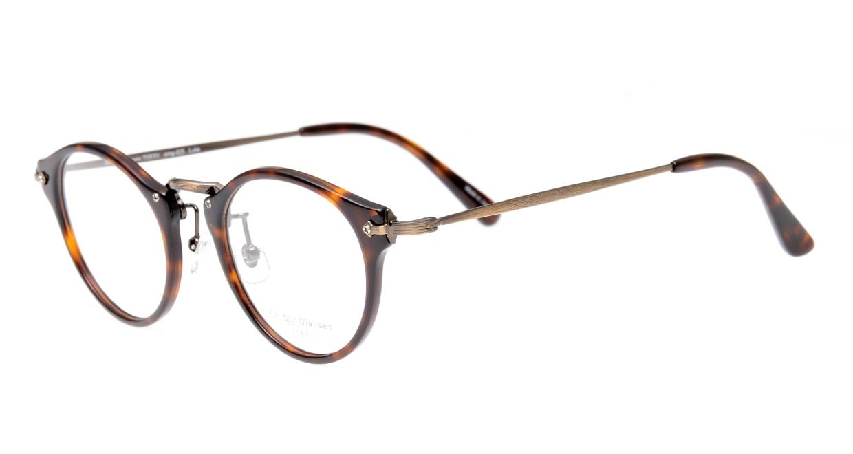 Oh My Glasses TOKYO Luke omg-025-20-12 [鯖江産/丸メガネ/茶色]  1