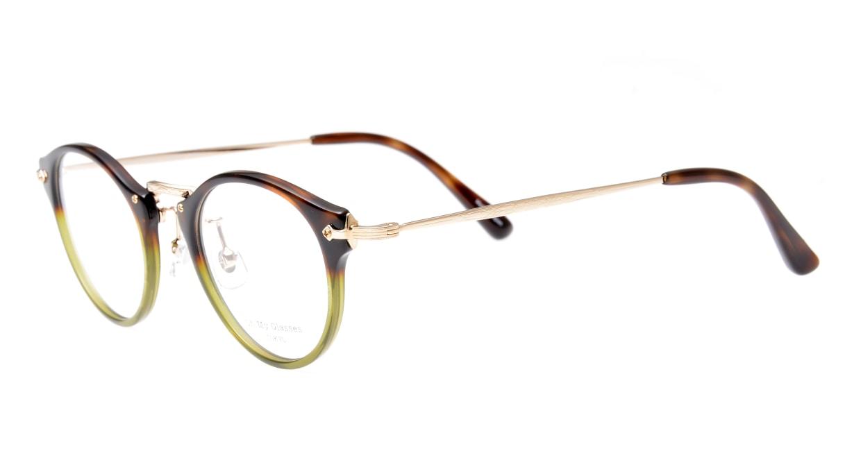 Oh My Glasses TOKYO Luke omg-025-58-14 [鯖江産/丸メガネ/派手]  1