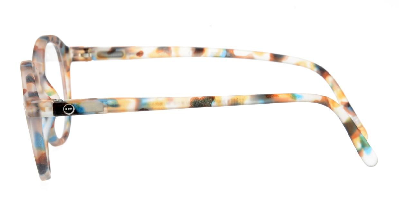 イジピジ #D SCREEN JUNIOR-Blue Tortoise [丸メガネ/派手]  2