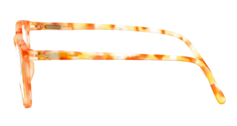 イジピジ #E SCREEN JUNIOR-Yellow Tortoise [ウェリントン/黄色]  2