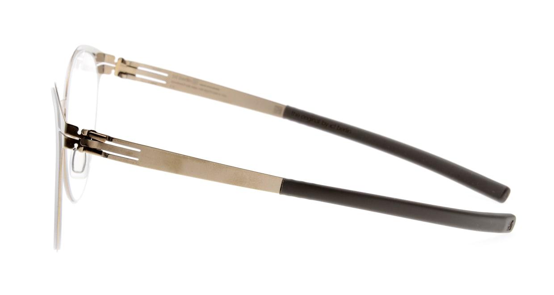 アイシーベルリン Sibylle A.-Shiny Bronze-Warm Grey [メタル/丸メガネ/茶色]  2