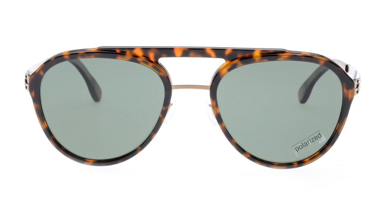 アイシーベルリン(ic! Berlin) アイシーベルリン Daniel D.-Bronze-Magma-Green Polarized