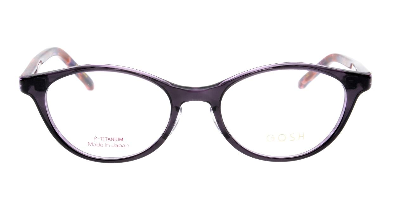 ゴッシュ GO-936-1 [鯖江産/オーバル/紫]