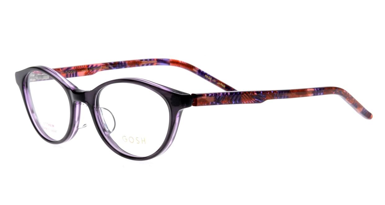 ゴッシュ GO-936-1 [鯖江産/オーバル/紫]  1