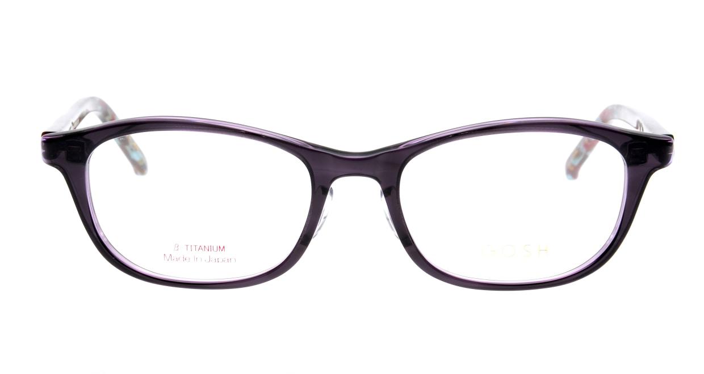 ゴッシュ GO-937-1 [鯖江産/オーバル/紫]