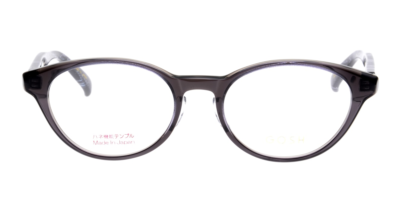 ゴッシュ GO-938-1 [鯖江産/オーバル/グレー]