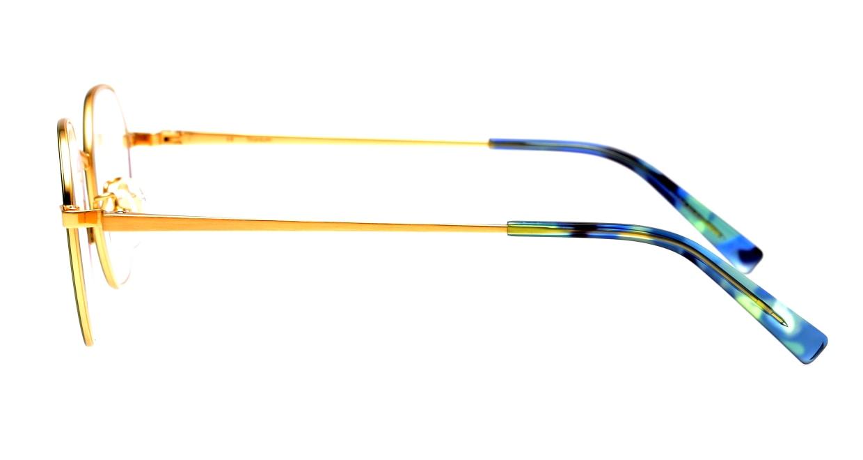 セレクタ 87-0010-02 [メタル/丸メガネ/緑]  2