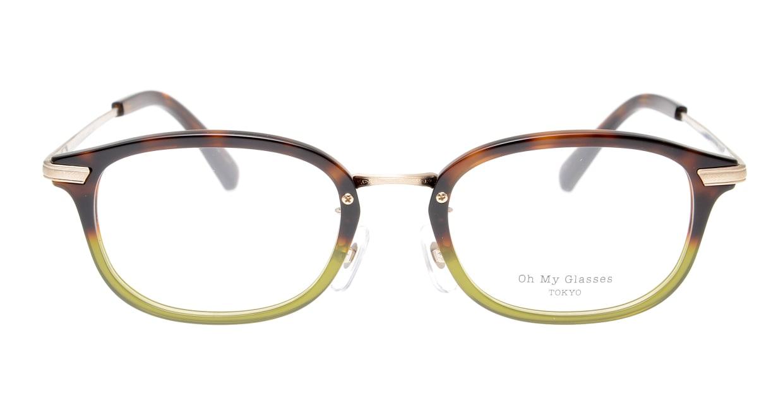 Oh My Glasses TOKYO Albert omg-071-58-15 [鯖江産/ウェリントン/緑]