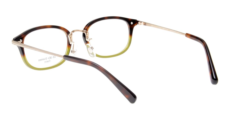 Oh My Glasses TOKYO Albert omg-071-58-15 [鯖江産/ウェリントン/緑]  3