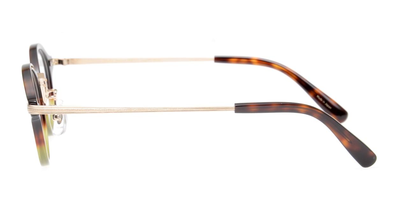 Oh My Glasses TOKYO Mickey omg-073-58-15 [鯖江産/丸メガネ/緑]  2
