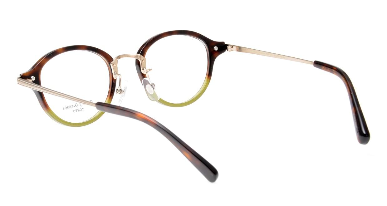 Oh My Glasses TOKYO Mickey omg-073-58-15 [鯖江産/丸メガネ/緑]  3