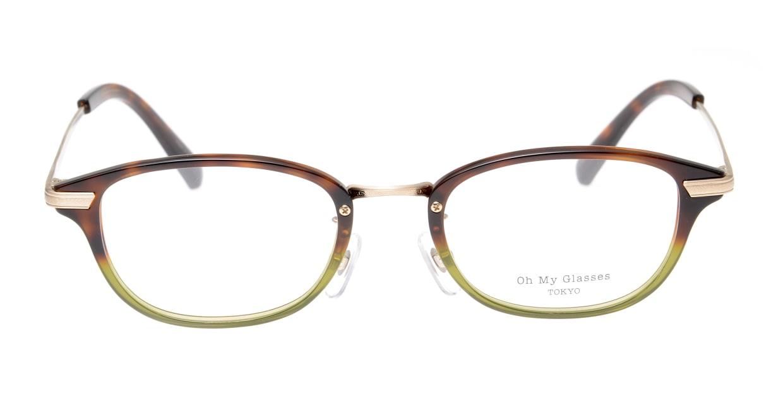 Oh My Glasses TOKYO Scott omg-091-58-15 [鯖江産/スクエア/緑]