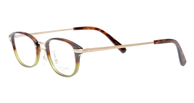 Oh My Glasses TOKYO Scott omg-091-58-15 [鯖江産/スクエア/緑]  1