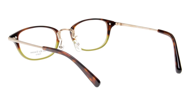 Oh My Glasses TOKYO Scott omg-091-58-15 [鯖江産/スクエア/緑]  3