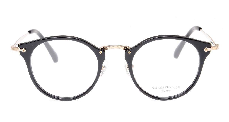 Oh My Glasses TOKYO Luke omg-103-1-14 [黒縁/鯖江産/丸メガネ]