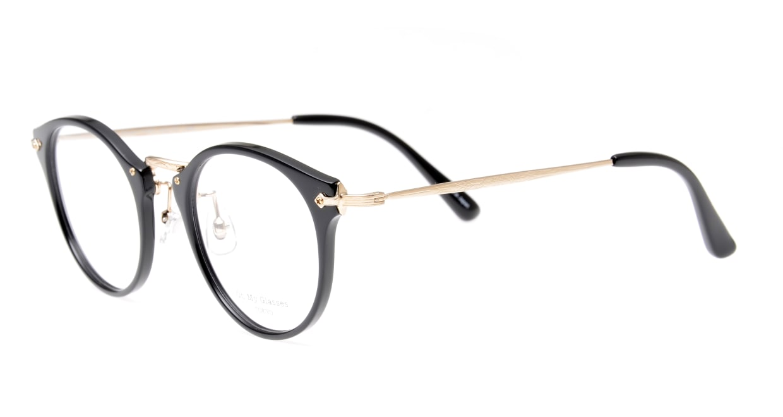 Oh My Glasses TOKYO Luke omg-103-1-14 [黒縁/鯖江産/丸メガネ]  1
