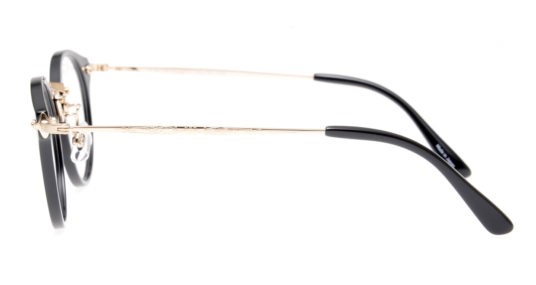 Oh My Glasses TOKYO Luke omg-103-1-14 [黒縁/鯖江産/丸メガネ]  2