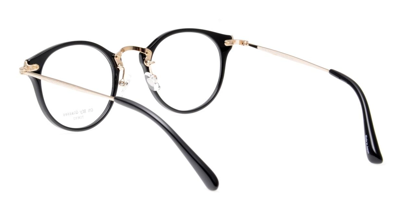 Oh My Glasses TOKYO Luke omg-103-1-14 [黒縁/鯖江産/丸メガネ]  3