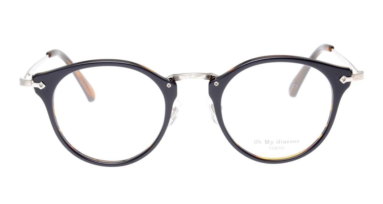 Oh My Glasses TOKYO Luke omg-103-40-20 [黒縁/鯖江産/丸メガネ]