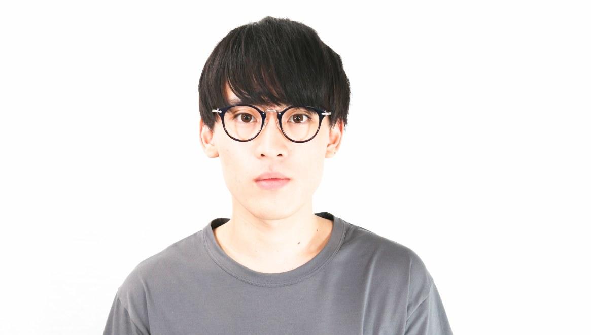 Oh My Glasses TOKYO Luke omg-103-40-20 [黒縁/鯖江産/丸メガネ]  4