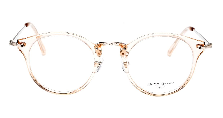 Oh My Glasses TOKYO Luke omg-103-54-20 [鯖江産/丸メガネ/透明]