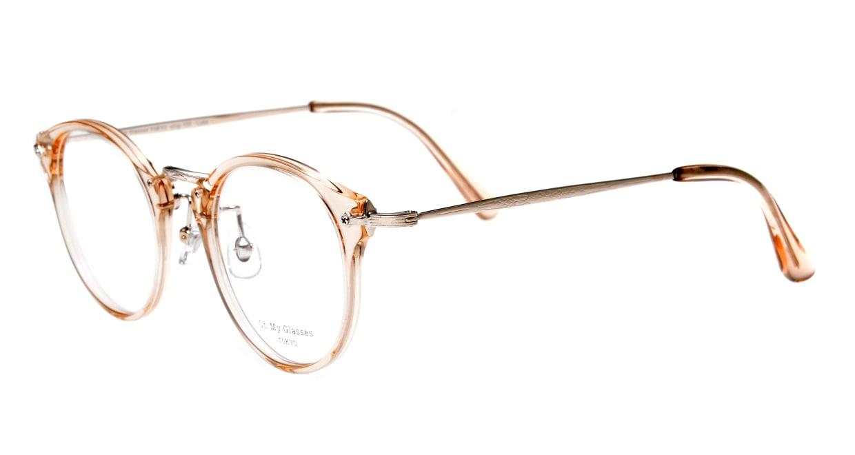 Oh My Glasses TOKYO Luke omg-103-54-20 [鯖江産/丸メガネ/透明]  1