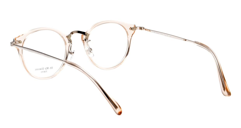 Oh My Glasses TOKYO Luke omg-103-54-20 [鯖江産/丸メガネ/透明]  3