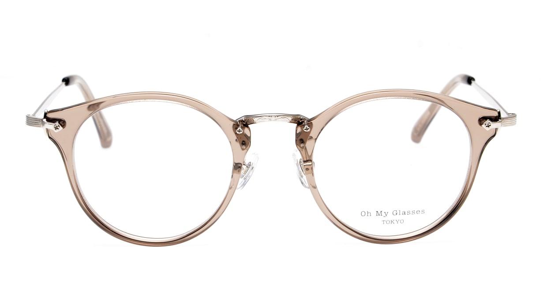 Oh My Glasses TOKYO Luke omg-103-35-20 [鯖江産/丸メガネ/透明]