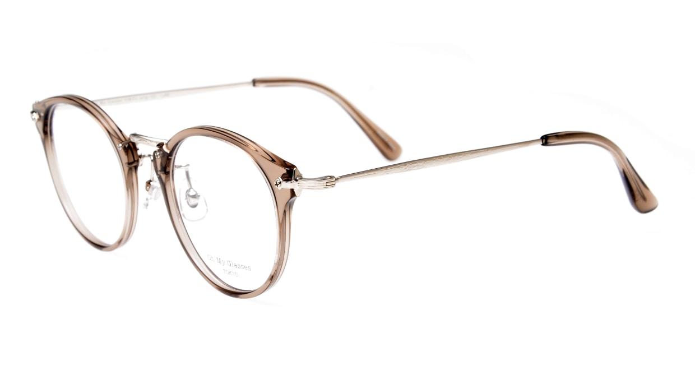 Oh My Glasses TOKYO Luke omg-103-35-20 [鯖江産/丸メガネ/透明]  1