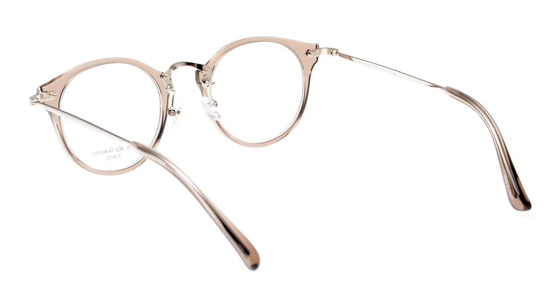 Oh My Glasses TOKYO Luke omg-103-35-20 [鯖江産/丸メガネ/透明]  3