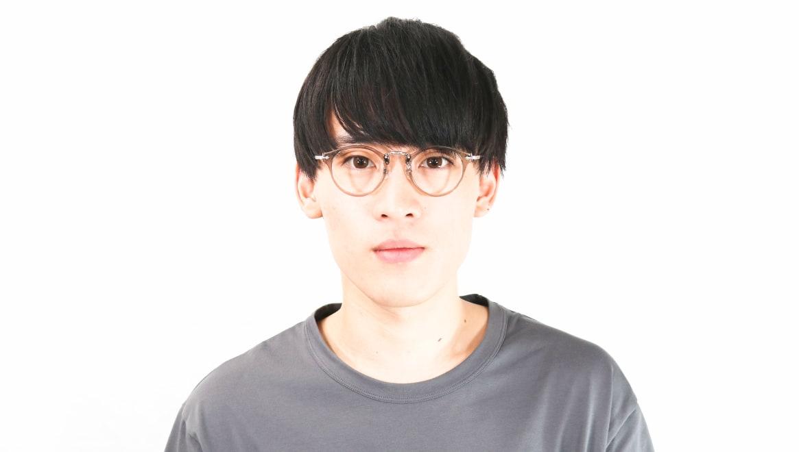 Oh My Glasses TOKYO Luke omg-103-35-20 [鯖江産/丸メガネ/透明]  4