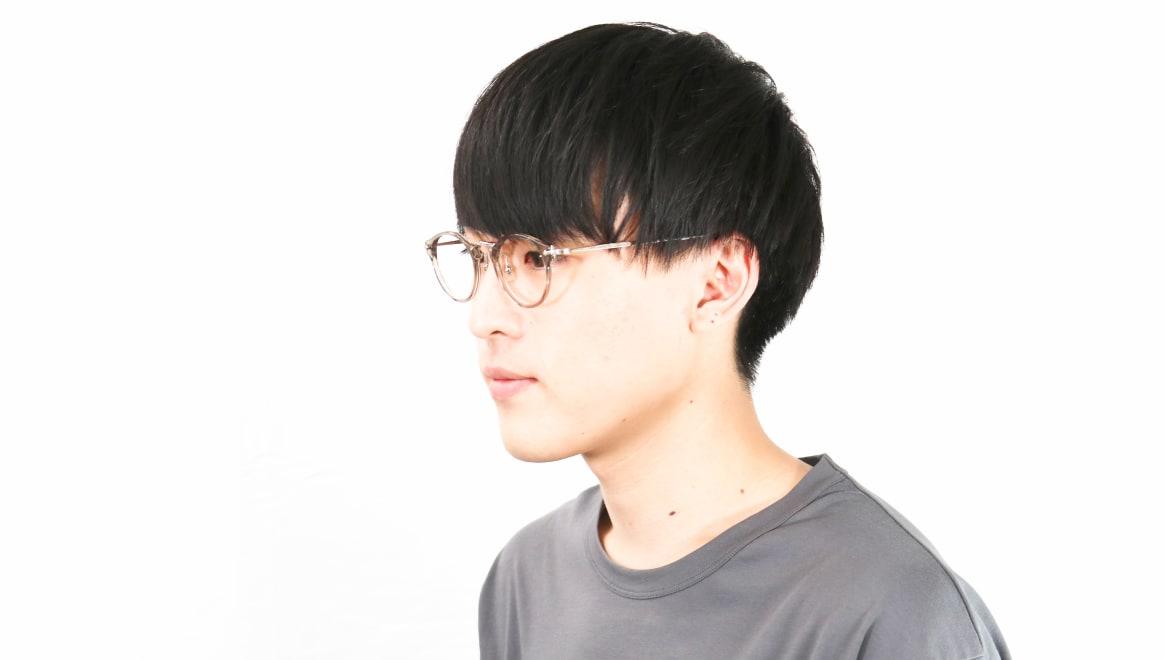 Oh My Glasses TOKYO Luke omg-103-35-20 [鯖江産/丸メガネ/透明]  5