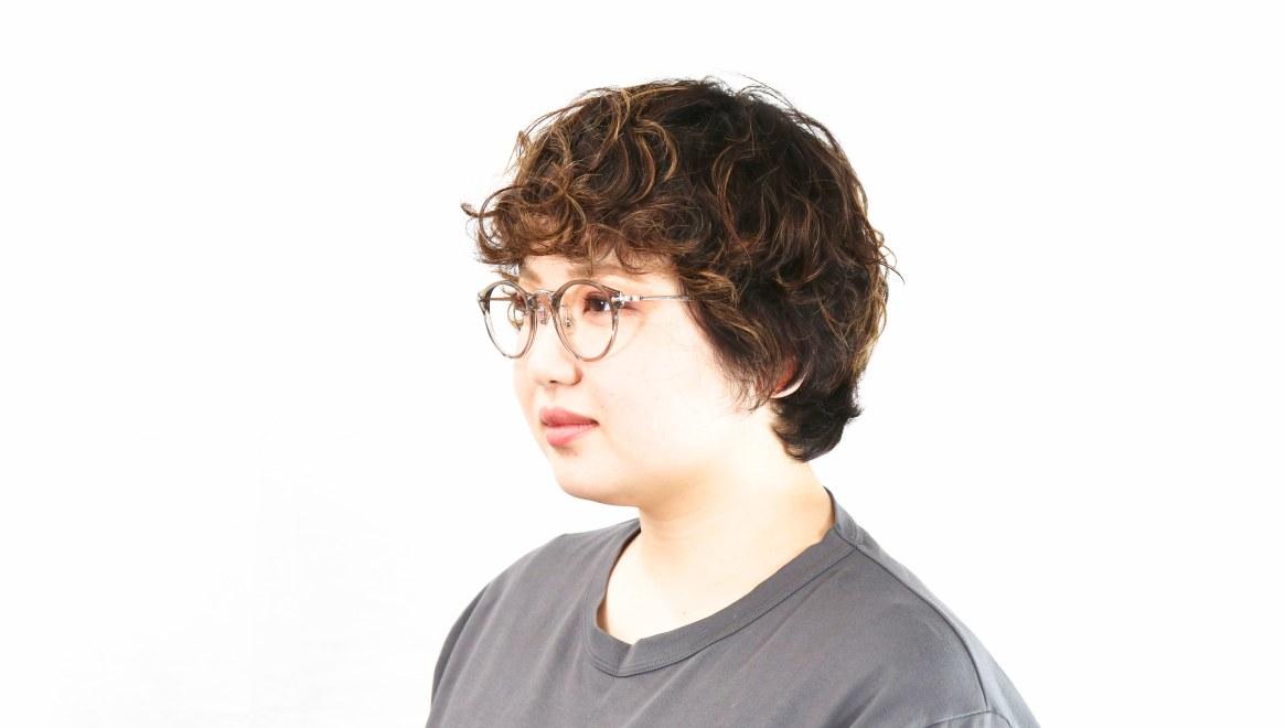 Oh My Glasses TOKYO Luke omg-103-35-20 [鯖江産/丸メガネ/透明]  7