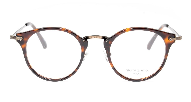 Oh My Glasses TOKYO Luke omg-103-20-12 [鯖江産/丸メガネ/茶色]